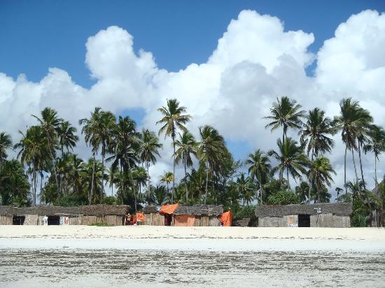Neptune Pwani Beach Resort & Spa: view from sea
