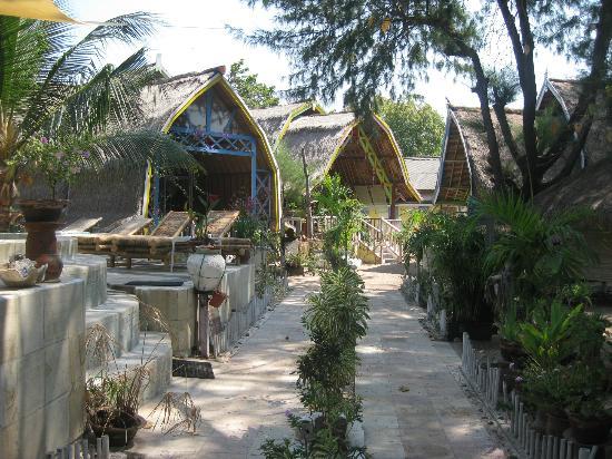 Villa Casa Mio: Les bungalows. :)