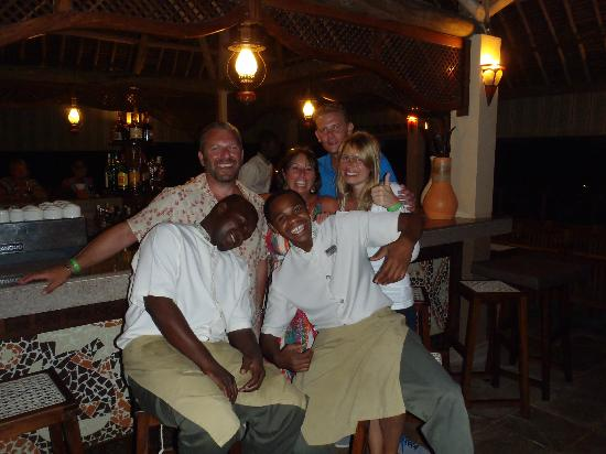 Neptune Pwani Beach Resort & Spa: Great bar staff
