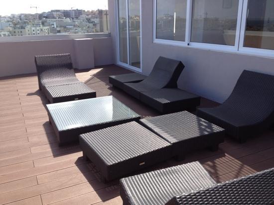 Argento Hotel : sesto piano, terrazza + piscina