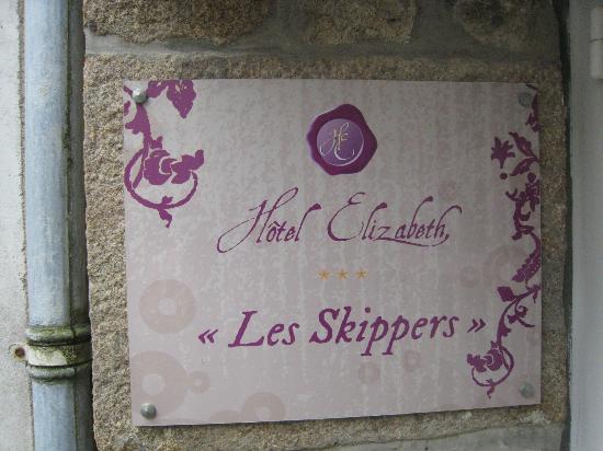 Hotel Elizabeth : Hotel Elisabeth, Les skippers! Voilà réellement là où vous résiderez