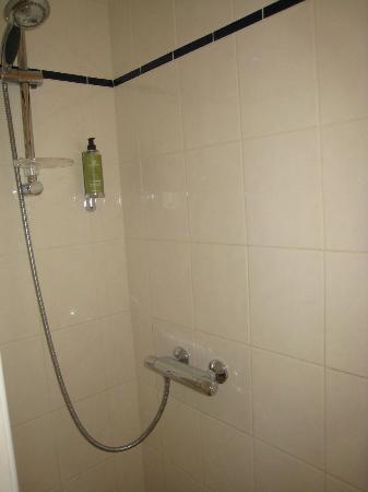 Hotel Elizabeth: Pas de double douche, gel douche commun à tous les passagers de cette chambre!