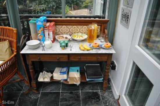 Bryn Meirion B&B: Breakfast bar