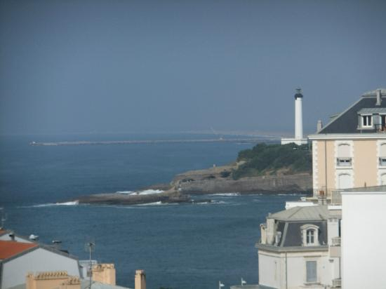 Le Grand Large - Residence: view of the lighthouse from our balcony