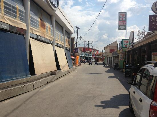 Olympion Village: The Strip