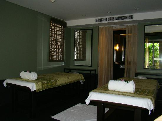 The Pavilions Phuket: Our private spa room