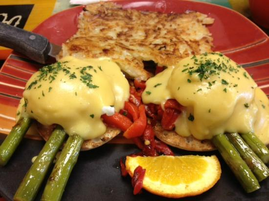 Scrambled Egg Cafe : Asparagus Bene - Delicious & A Top Pick For Sure!