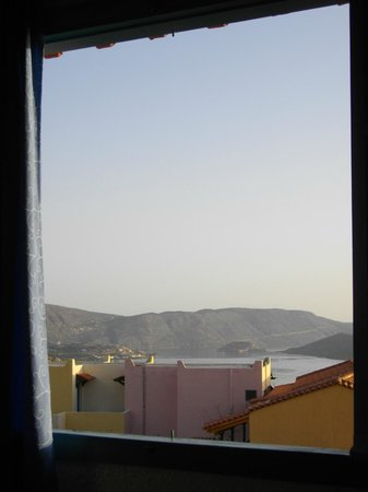 Elounda Residence: view from bedroom