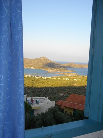 Elounda Water Park Residence: view from bedroom window