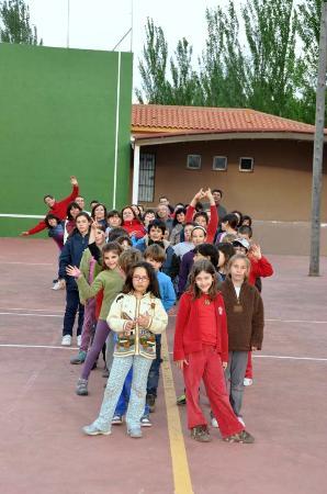Villanueva de Guadamejud, Spain: actividad con familias