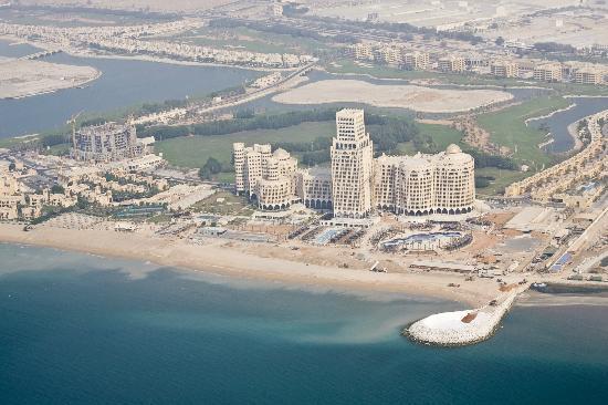 Club de Aviación Jazirah: A view from the plane