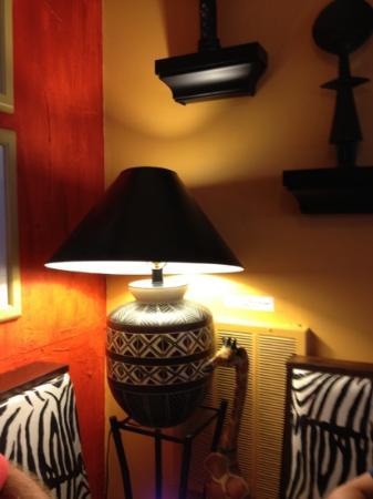 Karoo Kafe : inside corner table - eat inside or out