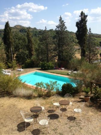 Al Giardino degli Etruschi: Vista dal casolare