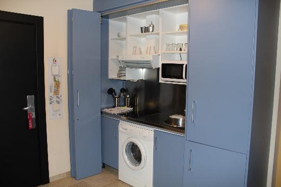 Apartamentos Vertice Sevilla Aljarafe: coin cuisine minuscule