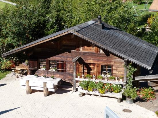 "Romantik Hotel Hornberg : we did not try the ""fondue hut"" - leaving that for our next visit in winter"