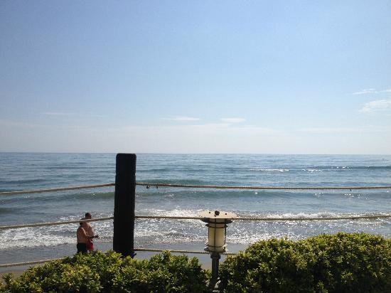 Los Monteros Spa & Golf Resort GL: Beach Club view to sea 