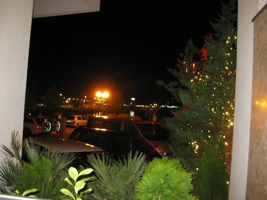 Hotel Niko: View from the restaurant