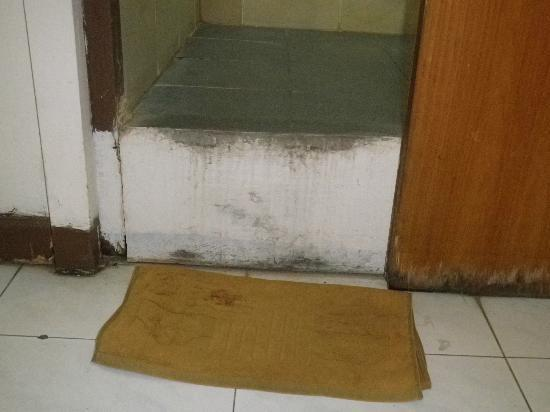 Celebes Hotel: Entrance to bathroom