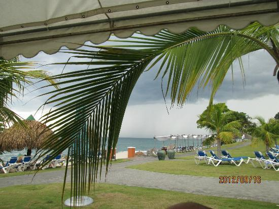 "Sheraton Bijao Beach Resort - An All Inclusive Resort: tent they use on the weekends to accomodate all the extra ""day pass"" guests"