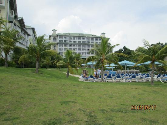 Sheraton Bijao Beach Resort: back of the hotel
