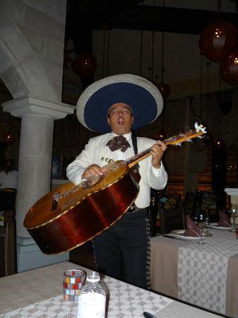 Dreams Riviera Cancun Resort & Spa: Mariachi Band Member at El Patio.