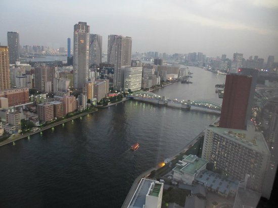 Ginza Creston Hotel : View from room