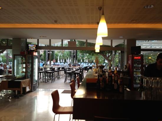 Hotel JS Sol de Alcudia: bar area