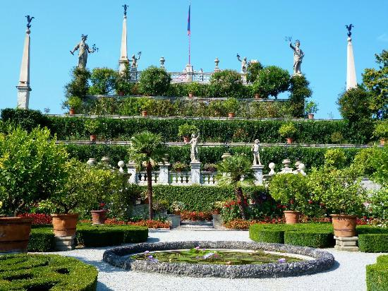Lac Majeur, Italie : Isola Bella gardens