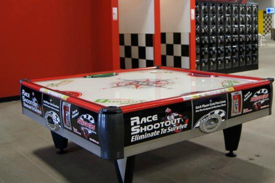 Speeders Indoor Prokarts: Custom 4 Player Air Hockey
