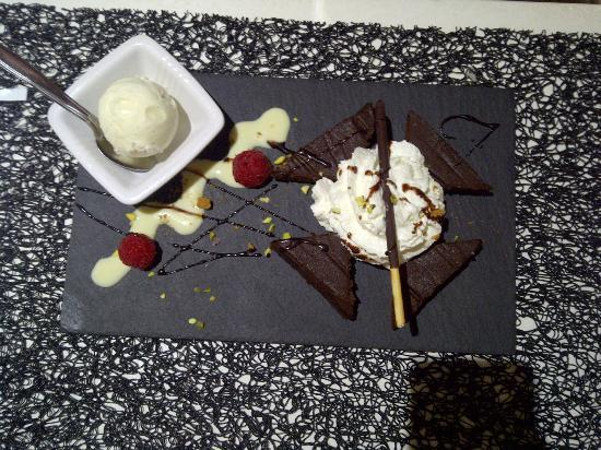 Le Carré St Michel : Fondant au chocolat