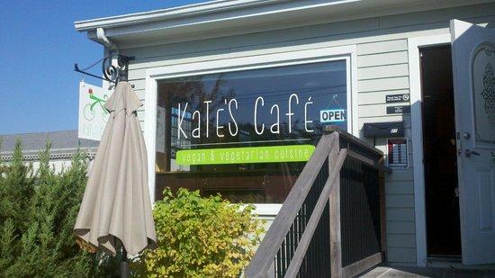 Kate's Cafe: front entrance