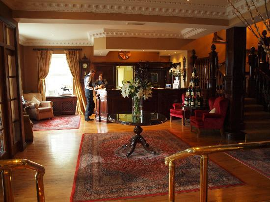 Ballygarry House Hotel & Spa : Lobby