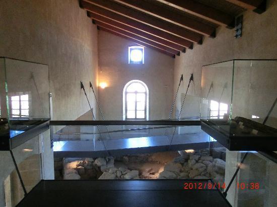Casa Zapata: particolare delle passerelle