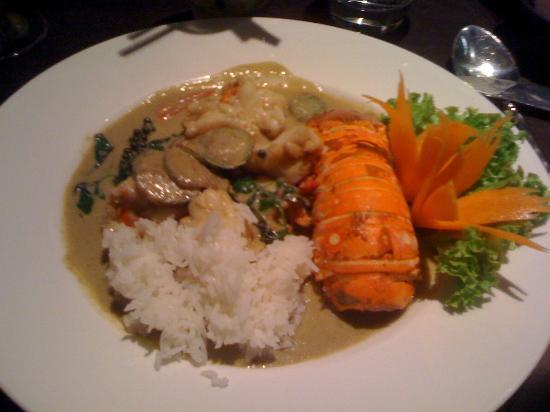 Patara Fine Thai Restaurant - Soho: Lobster in green curry