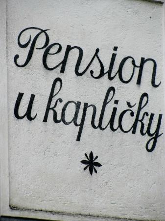 Pension U Kaplicky : detail