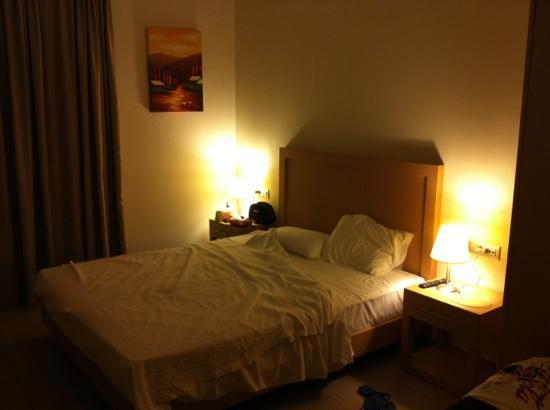 Elena Beach Hotel: camera matrimoniale vista mare