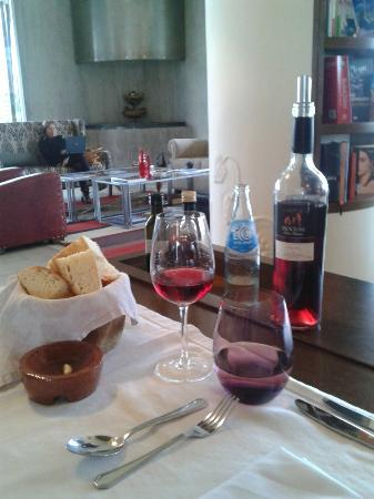 Entre Cielos: Great food and wine at the hotel restaurant.