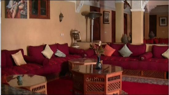 Riad Amssaffah: One of the Common Rooms