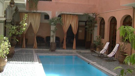 Riad Amssaffah: Pool
