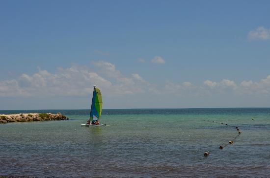 Hacienda Tres Rios: playa del hotel