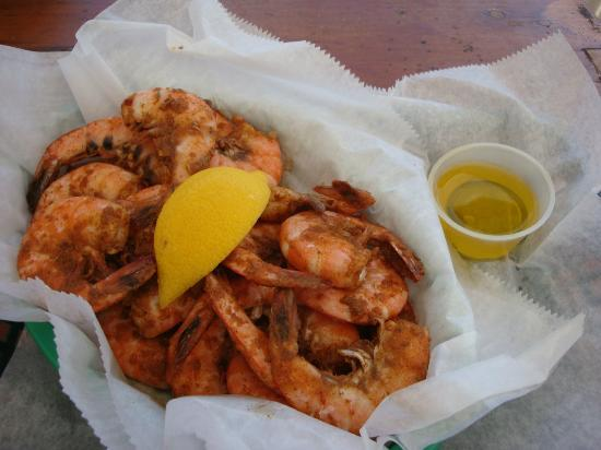 Days Inn Daytona Oceanfront : Boondocks the restaurant peel and eat spicy shrimp