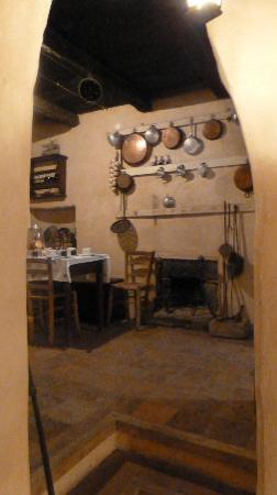La Preta Nera: dining room
