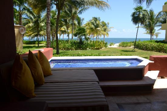 Zoetry Paraiso de la Bonita: View from our suite