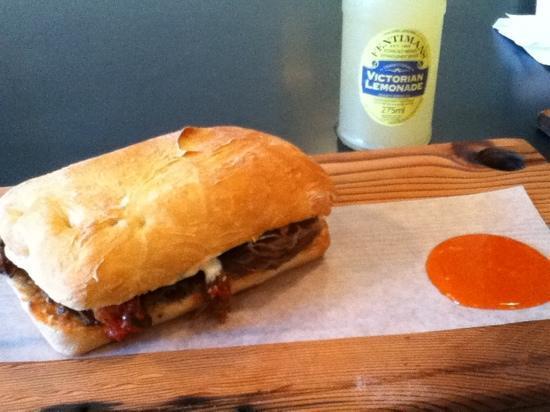 Meat & Bread: kogi korean sandwich!