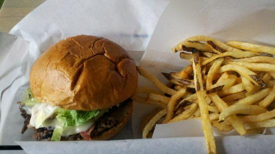Grind: Fresh burgers and fries!