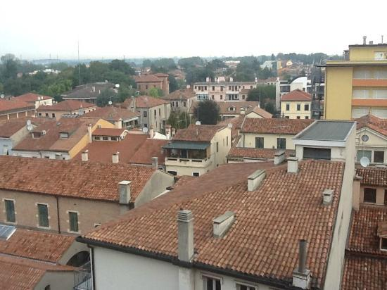 PadovaResidence: View from AL CORSO balcony