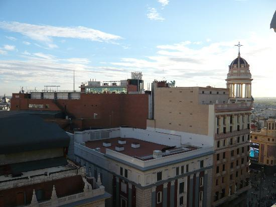 Hotel Atlantico: View from rooftop Terrace