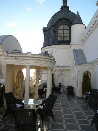 Hotel Atlantico: Part of rooftop Terrace