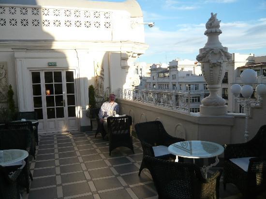 Hotel Atlantico: Roof Terrace seating