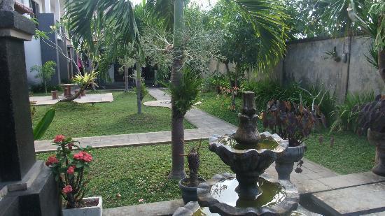 Villa Jepun : parc de la villa